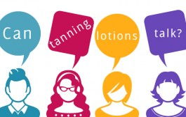 Can Tanning Lotions Talk?