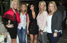 Tanning Pros Meet Up with Kim Kardashian!