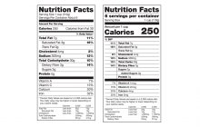 The New, Improved Nutrition Facts Label