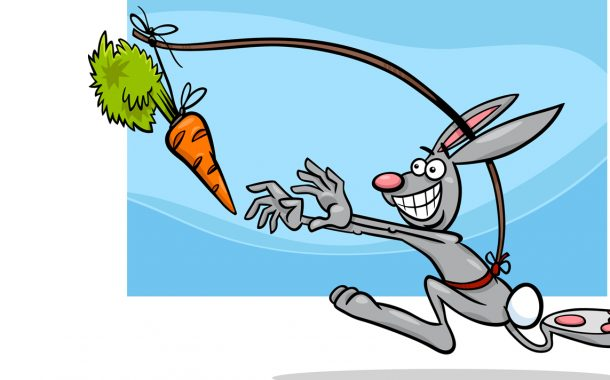 Put a Carrot in Front of Your Bunnies