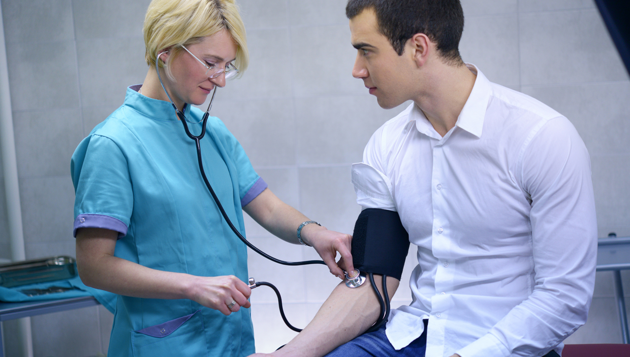 Young Adults May  Be Ignoring High  Blood Pressure