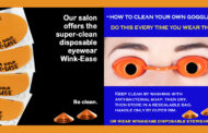 Keep it Clean & Easy with Disposable Eye Protection!